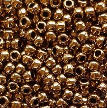Toho 8/0 Seed Beads  Bronze 221 - 10 grams